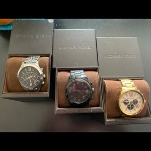 3 Michael Kors Watches